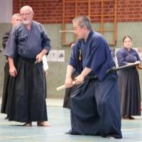 Ohtani Sensei in Kampfbereitschaft