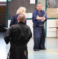 Ohtani Sensei demonstriert perfektes Shimeru
