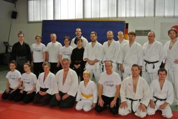 V.Becker unterrichtete Aikido