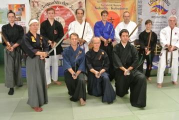 Iaido Gruppe bei Ch.Rauscher,