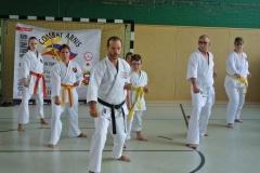 Christian Kehl lehrt Karate-Do