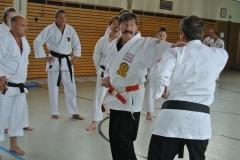 In der Oberstufe lehrte Hans-D. Rauscher Karate-Do