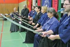 Iaido beim Seminar in Oldenburg
