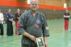 Markus Wandscher erhielt den Tokugawa Award 2016