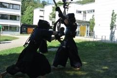 Bei strahlendem Sonnenschein begann das diesjährige Samurai Camp in Stegen.
