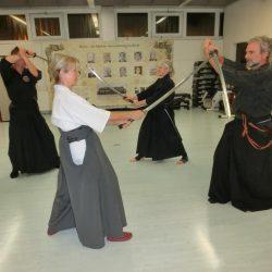 Iaido mit Christine Rauscher